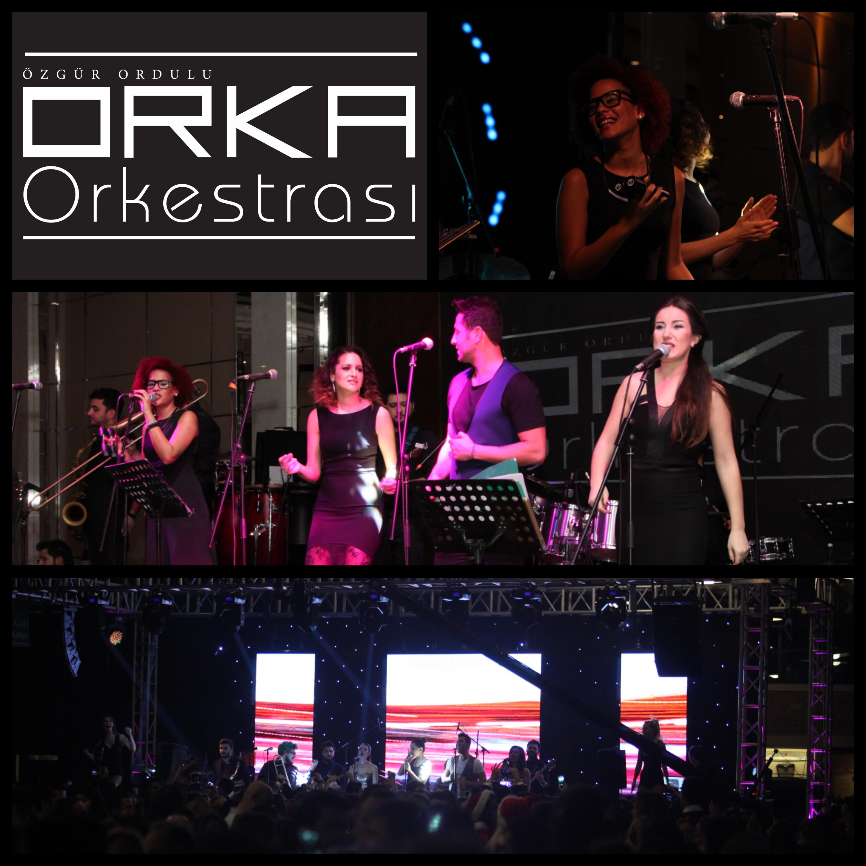 Orka Orkestrası Sahne Performansları