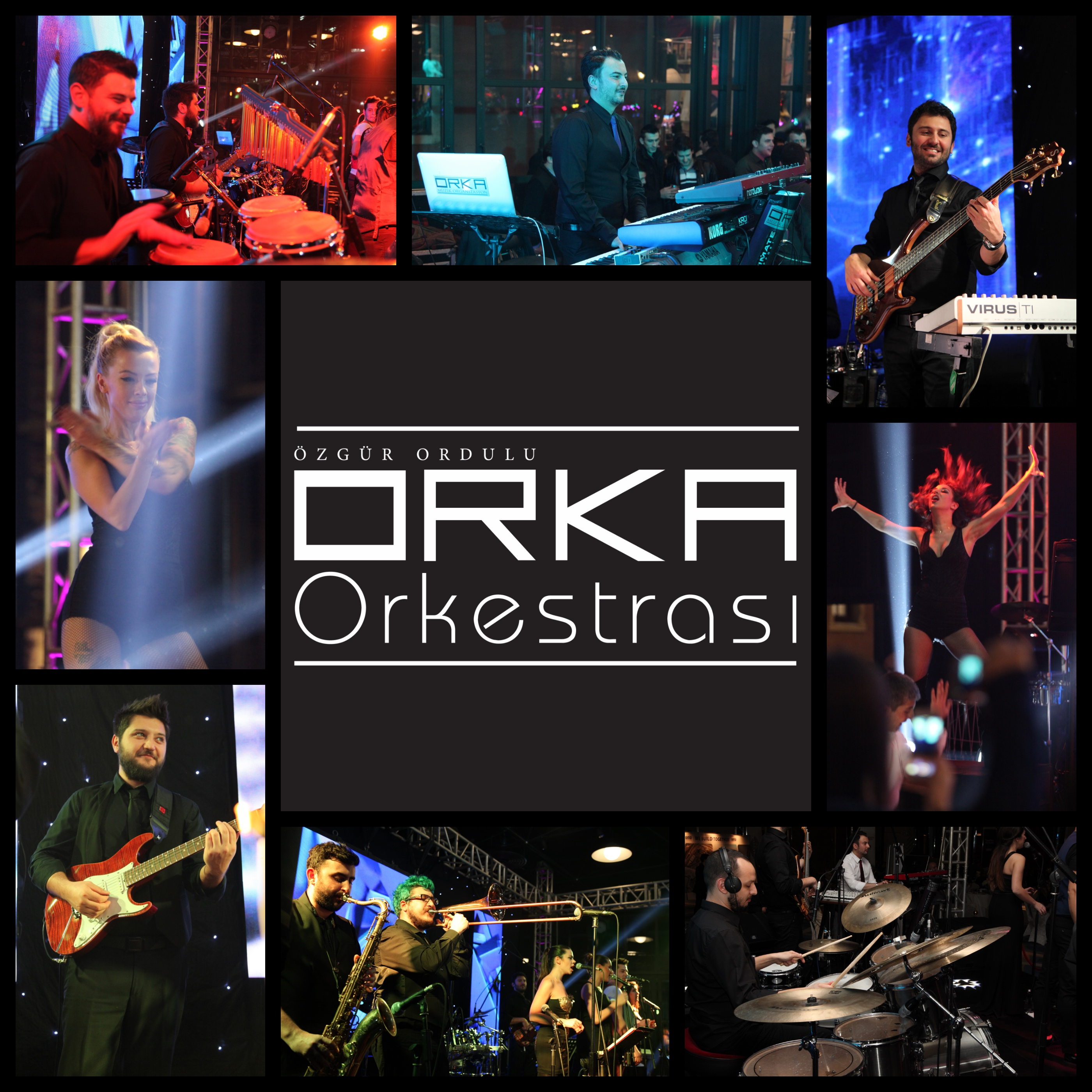 Orka Orkestrası Kolaj